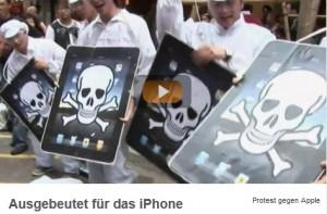 """Frontal21-Beitrag """"Ausgebeutet für das iPhone"""", ZDF 4. Okt. 2011"""